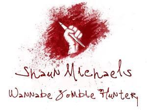 Shaun Michaels Wannabe Zombie Hunter Logo 1